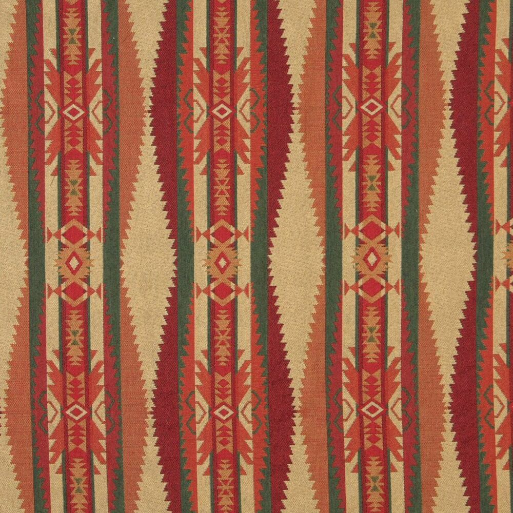 B170 southwestern navajo lodge style upholstery grade for Upholstery fabric