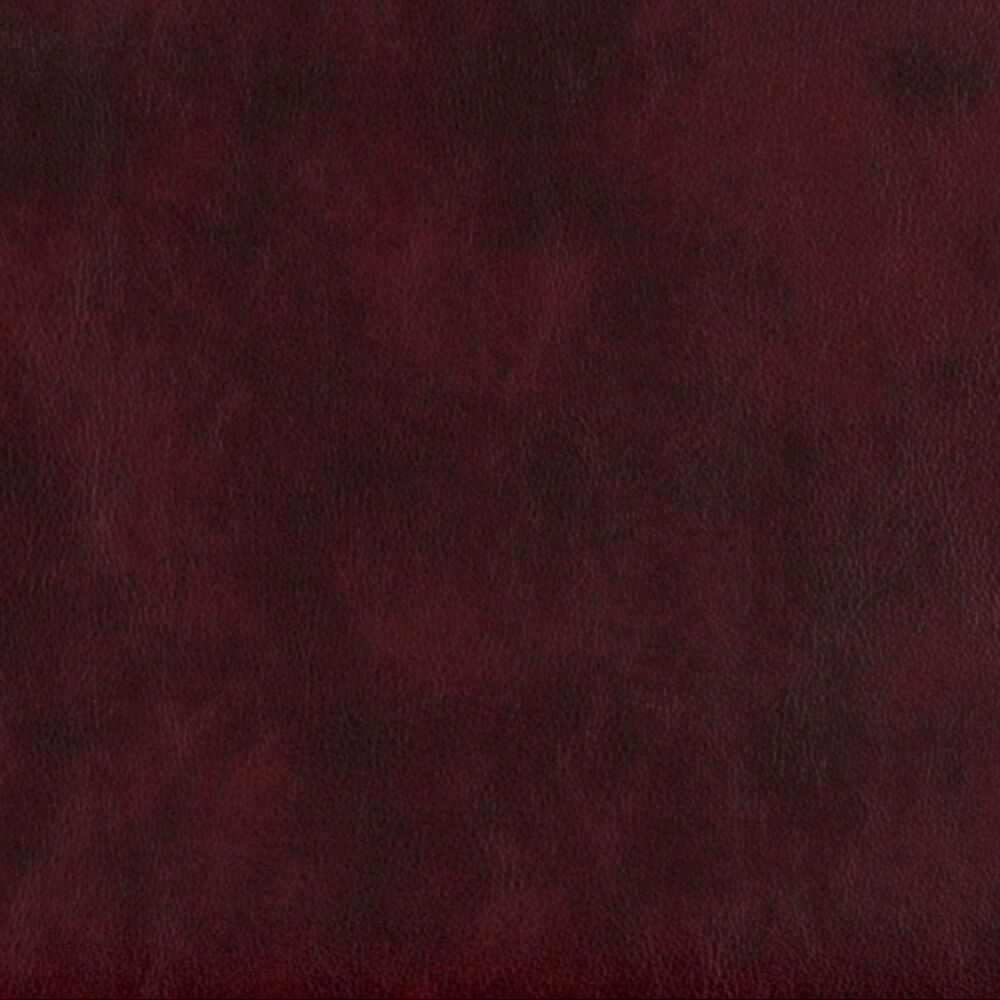 G639 burgundy smooth leather grain upholstery bonded for Red leather fabric