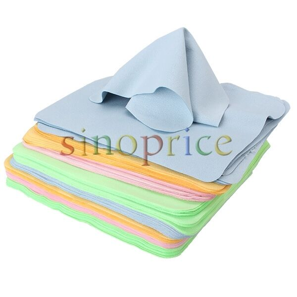 Microfiber Cleaning Cloth For Camera Lens: 10pcs Microfiber Phone Screen Camera Lens Eyeglass Cleaner