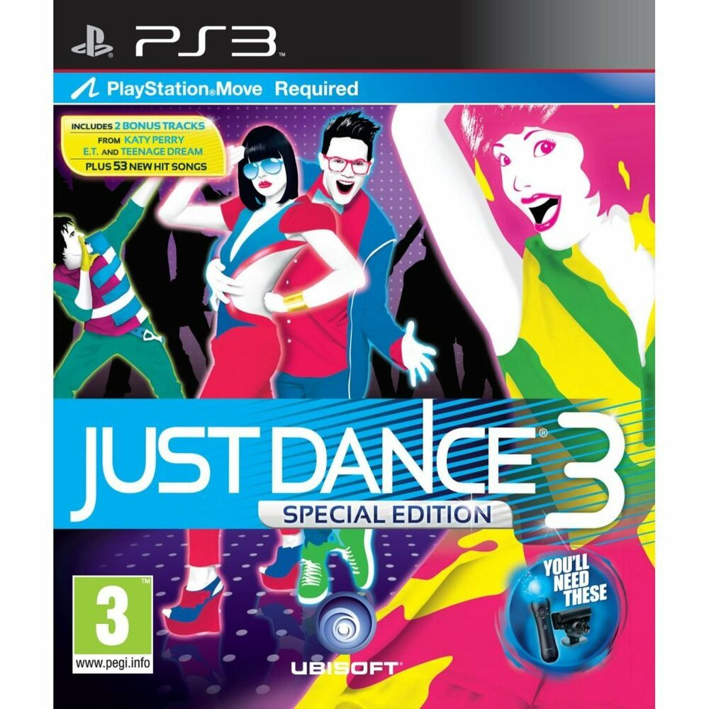 JUST DANCE 3 Special Edition ~ PS3 (in Great Condition) | eBay