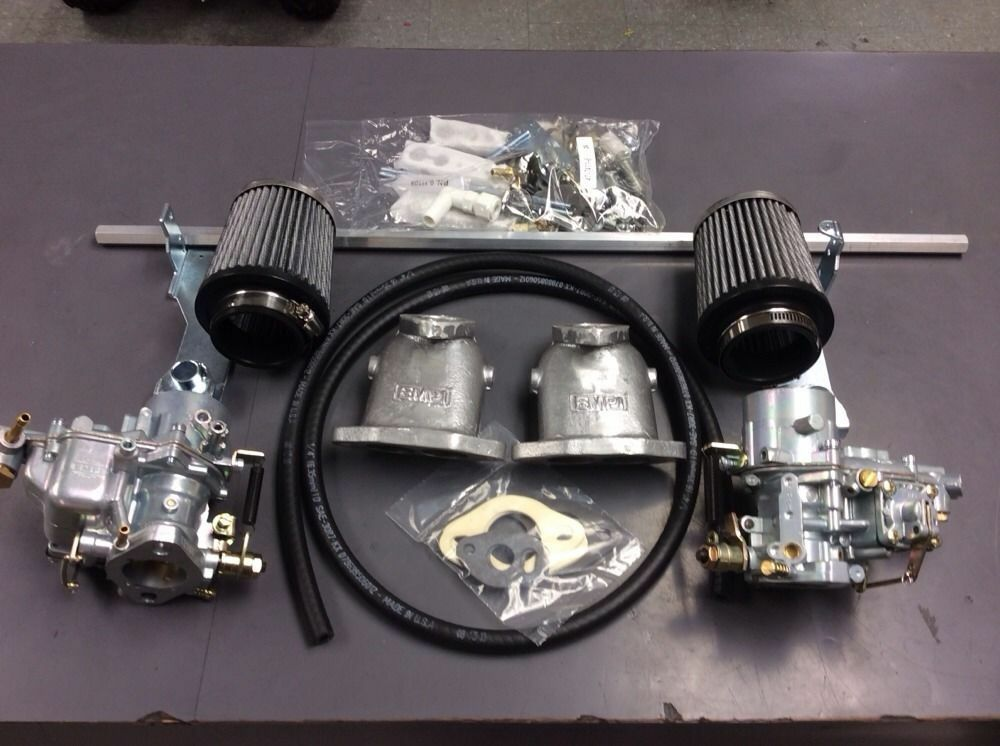 Vw Dune Buggy Dual Epc 34 Empi Carb Kit Dual Port Vw Type