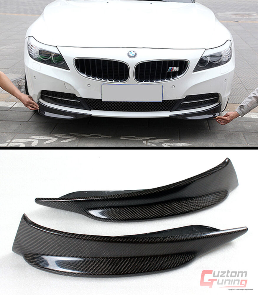 New E89 Bmw Z4 Convertible Real Carbon Fiber Front Bumper