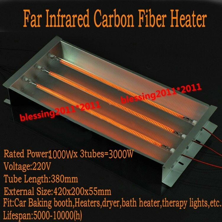 3000w Spray Baking Booth Infrared Ir Paint Curing Heating