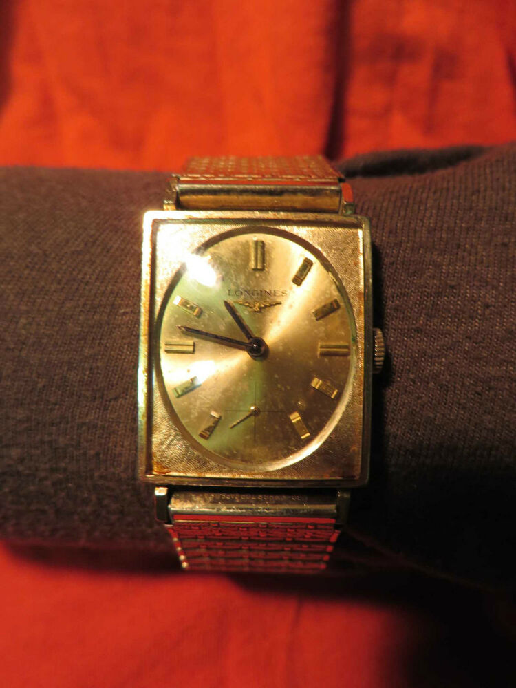 vintage mens with oval by longines ebay