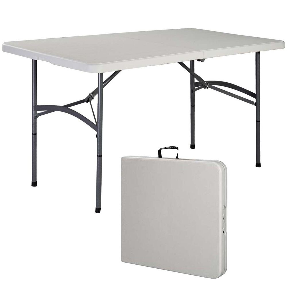 5 39 folding table portable plastic indoor outdoor picnic
