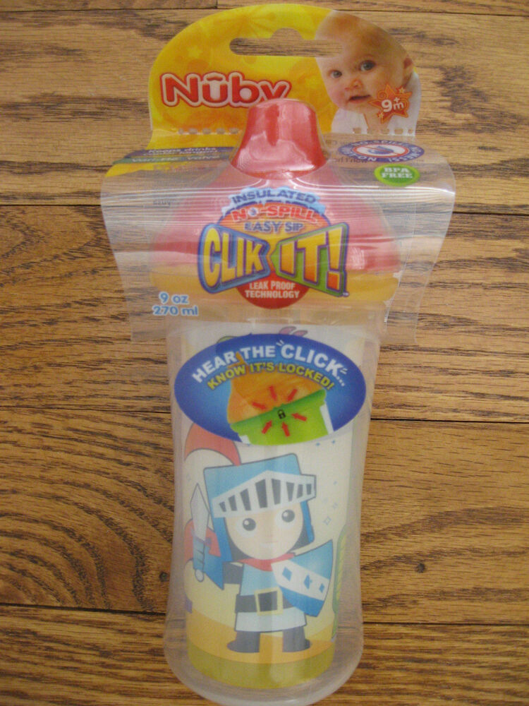 Nuby Sippy Cup Insulated Easy Sipper No Spill 9 Oz Ebay