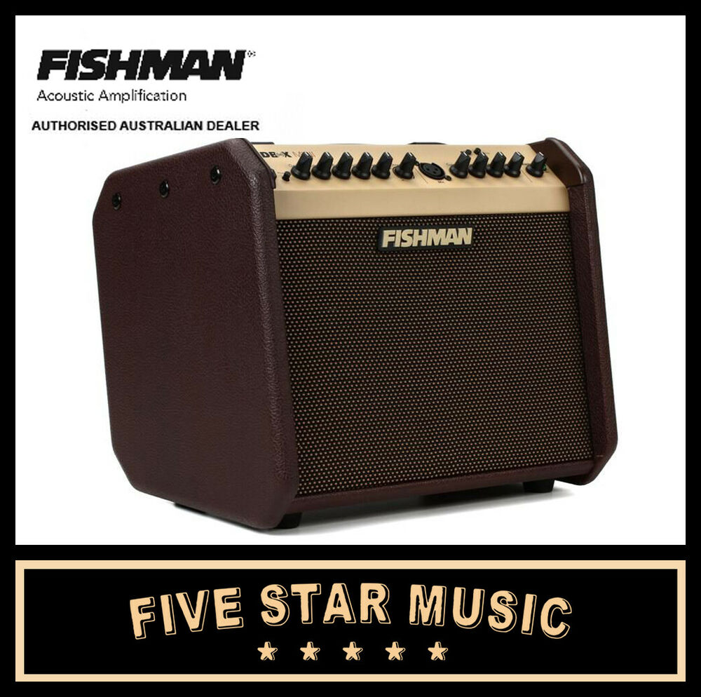 fishman loudbox mini acoustic 60 watt guitar amp combo