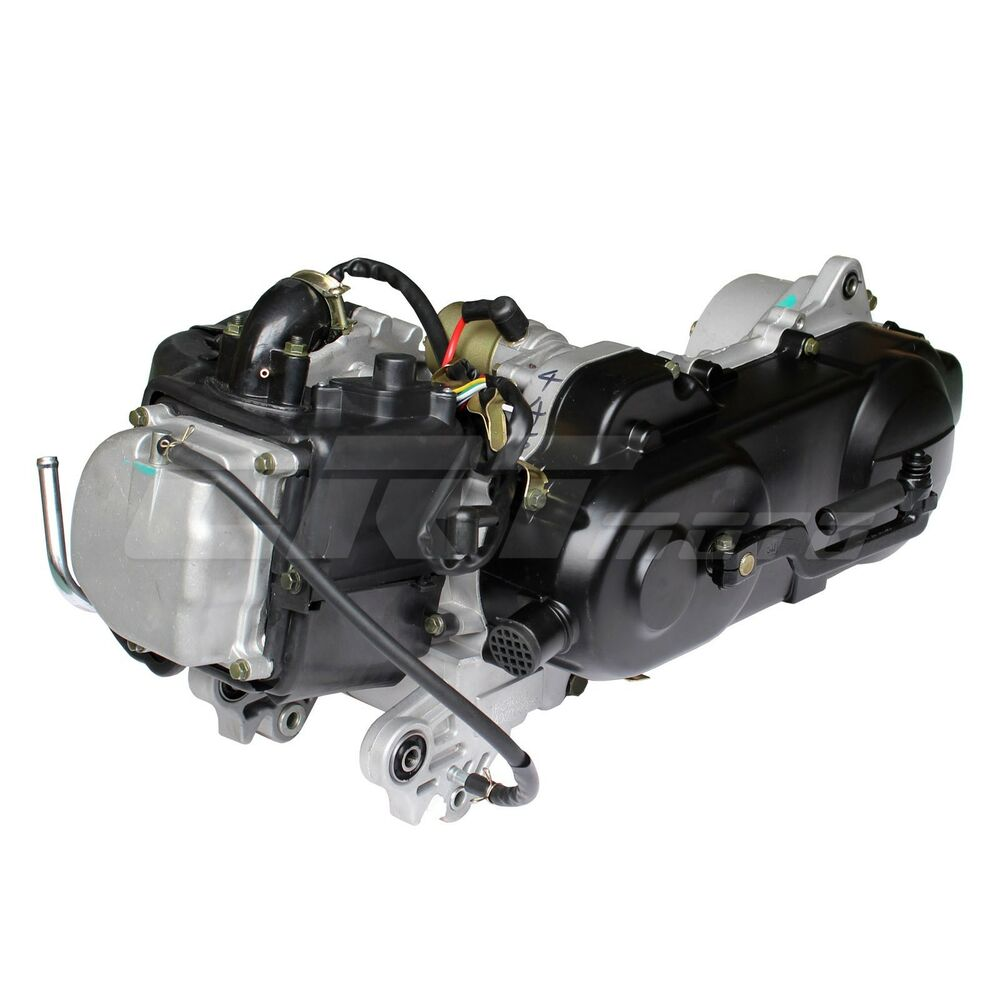 brand new gy6 50cc 4 stroke long case engine 1p39qmb kit for gas scooters ebay. Black Bedroom Furniture Sets. Home Design Ideas