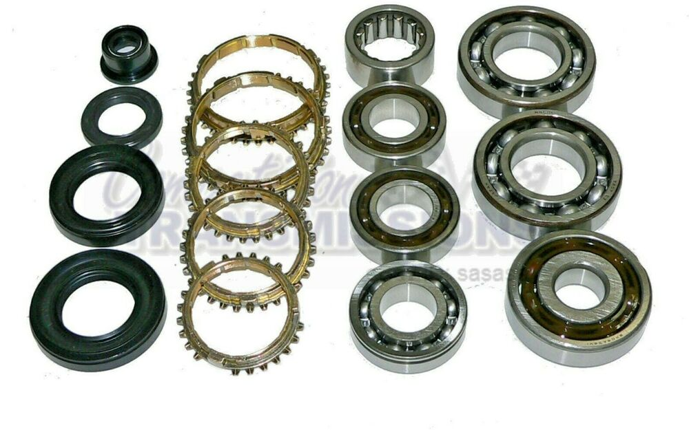 Honda Civic Del Sol CRX 4 5 Speed Transmission Rebuild Kit 1.6 1.5L S20 S40  L3 | eBay