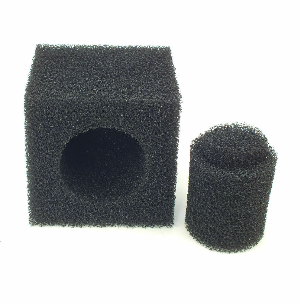 Garden fish pond foam square cube block pump pre filter for Fish pond filter sponges