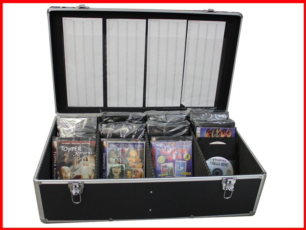 Dvd movie storage cases