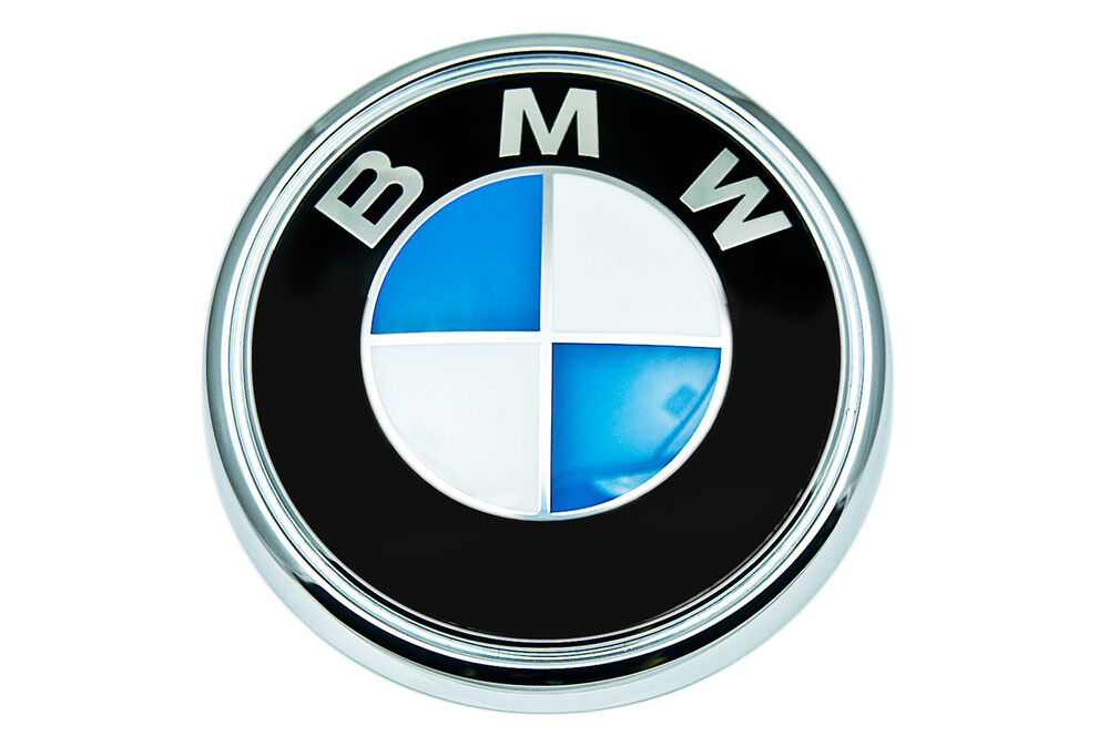 Bmw Genuine Logo Roundel Rear Hatch Boot Trunk Badge