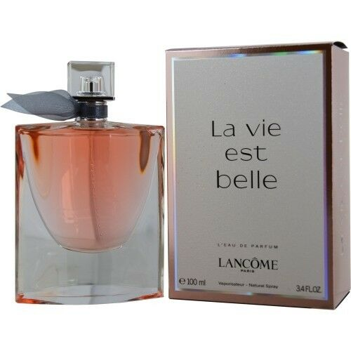 lancome la vie est belle womens 3 4 oz 100 ml perfume eau. Black Bedroom Furniture Sets. Home Design Ideas