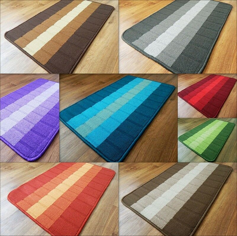 new machine washable non slip hall runner rugs cheap long easy clean hallway mat ebay. Black Bedroom Furniture Sets. Home Design Ideas
