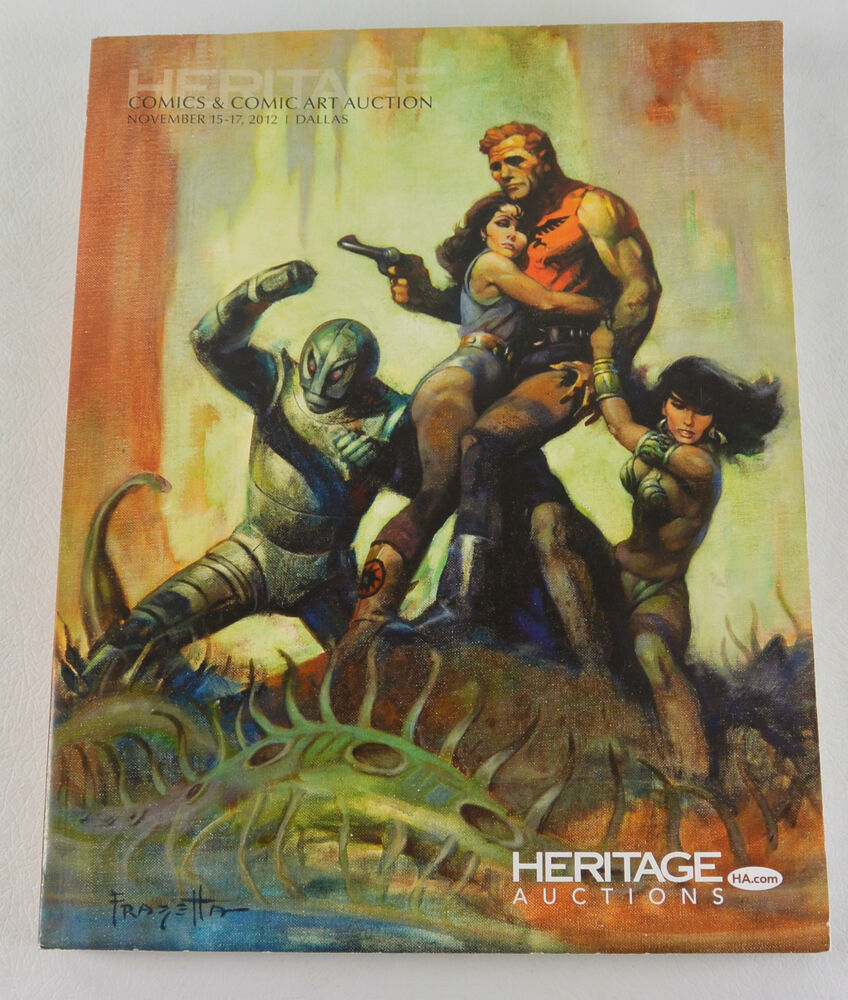 Heritage Auctions Comics And Comic Art Auction Catalog