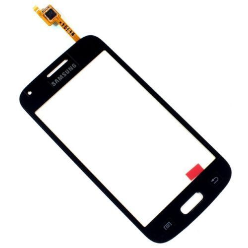TOUCH SCREEN E VETRO PER SAMSUNG GALAXY CORE PLUS NERO SM G350 G3500 BIADESIVO