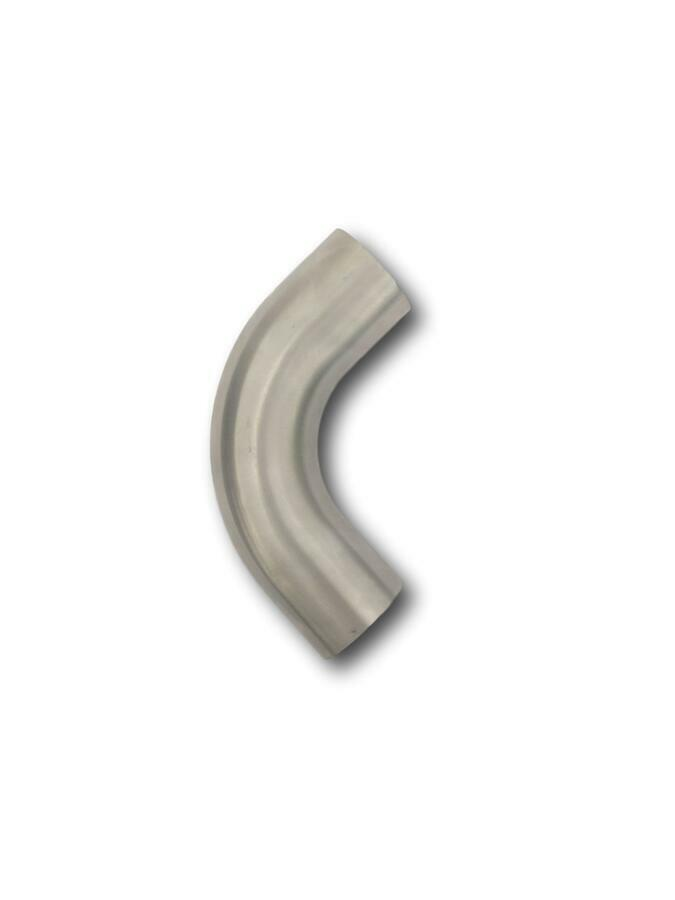 Exhaust pipe mandrel bend stainless steel quot