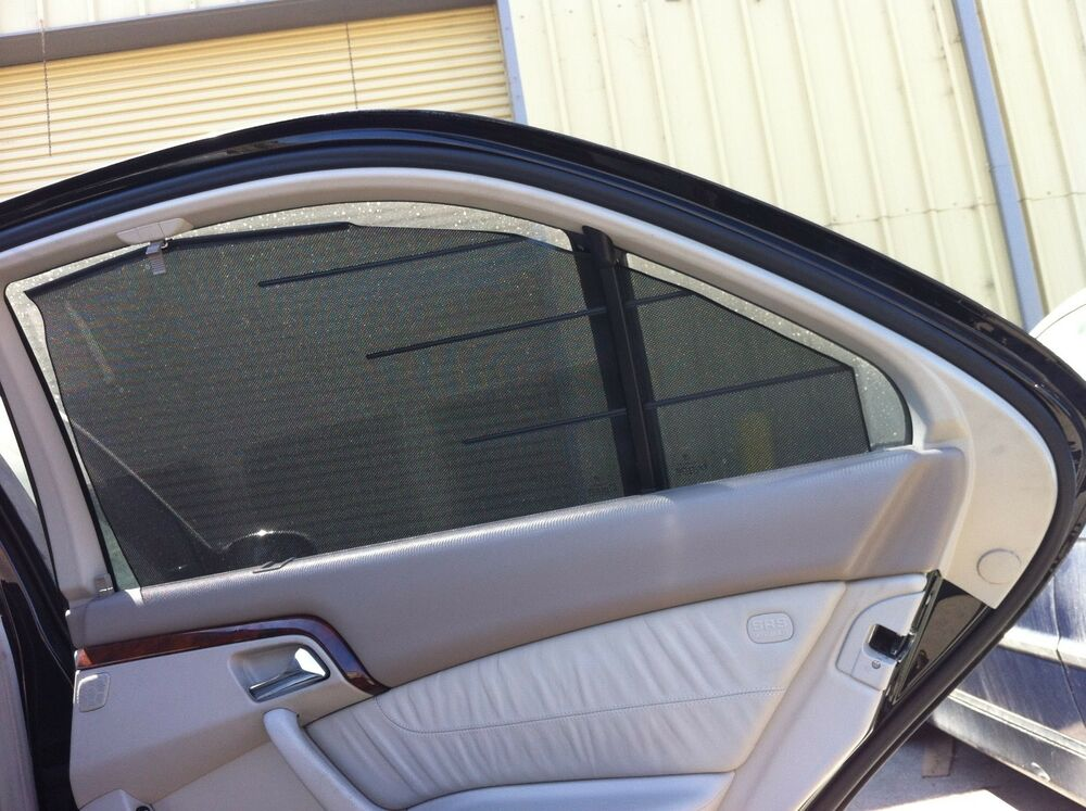 2000 2002 mercedes benz w220 side window shade s500 s55 for Mercedes benz shades
