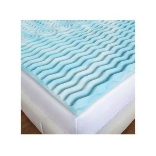 Mattress topper 2 inch pad for memory foam or mattress twin full queen king new ebay Memory foam mattress topper twin