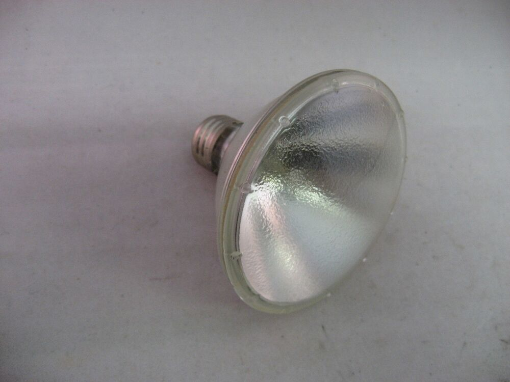 Vintage Ge General Electric Light Bulb Halogen Narrow Flood 75w 120v Ebay