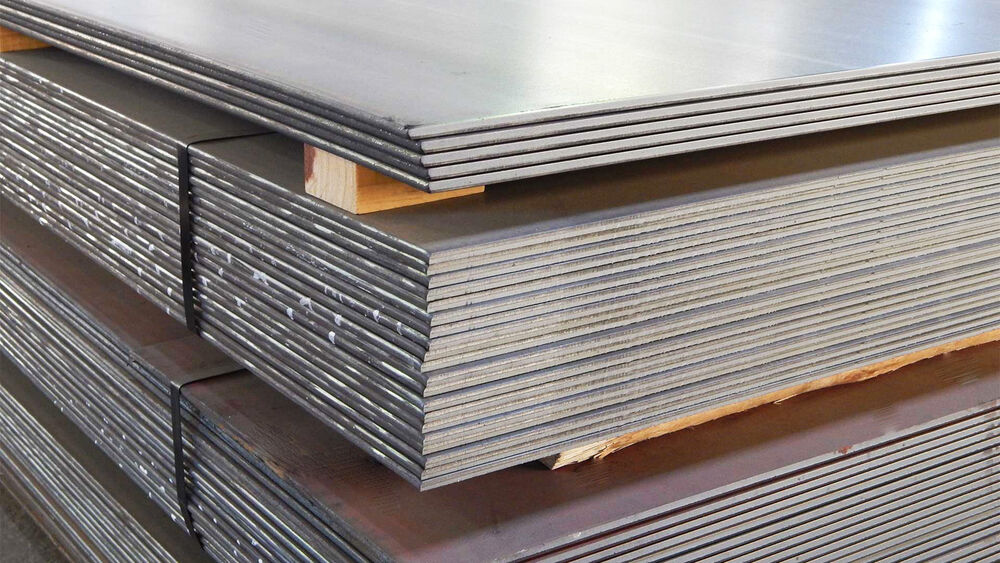 10mm Thick Mild Steel Sheet Plate Profiles Blanks Many