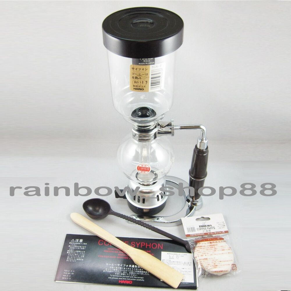 Syphon Coffee Maker History : Hario Siphon Technica Coffee Maker TCA-2 for Syphon 2 Cups 280ml 2 Cups eBay