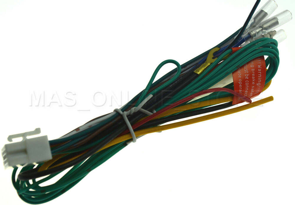 clarion vrx765vd vrx-765vd genuine wire harness *pay today ... clarion 16 pin wiring harness white #14