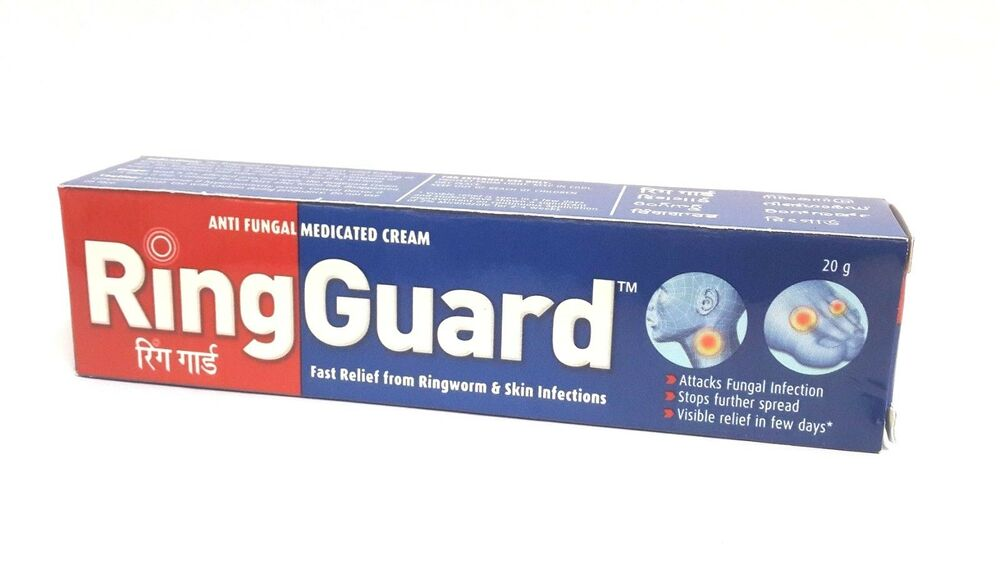 Ring Guard, Jock Itch, Double Action Anti-Fungal Cream ...