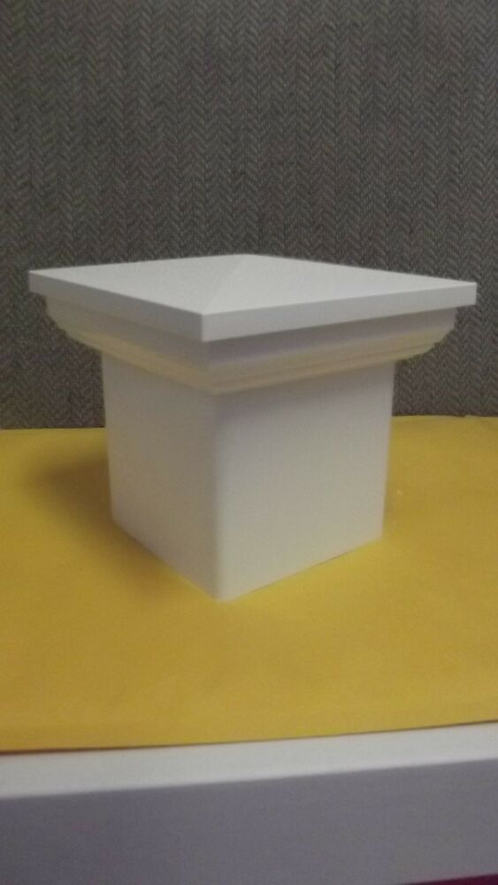 4x4 Pvc Fence Post New England Caps Tops Vinyl White 4 X 4