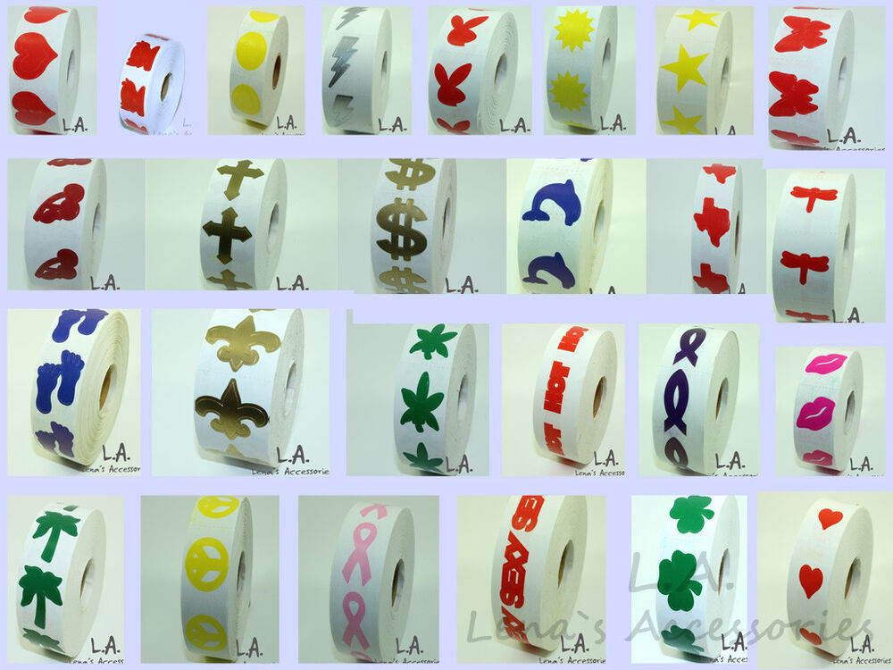 3 rolls of tanning bed stickers of your choice tanning for Tanning beds and tattoos