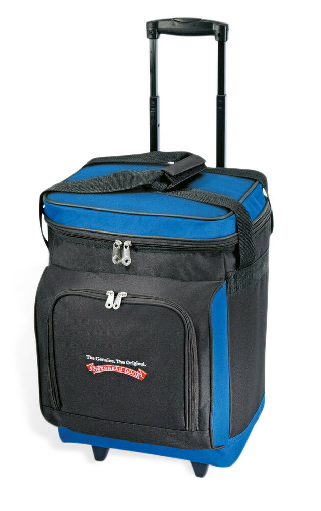 "GP 17"" Navy Everest Plus Insulated 30-can Rolling Wheeled ..."