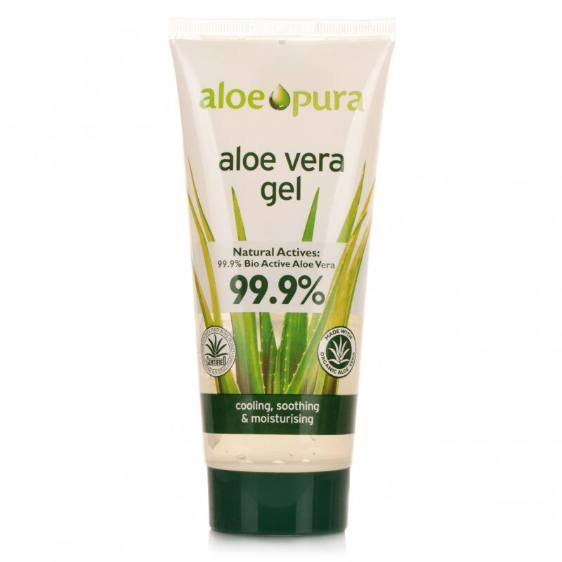 aloe pura organic aloe vera gel 99 9 bio active aloe vera 100ml ebay. Black Bedroom Furniture Sets. Home Design Ideas