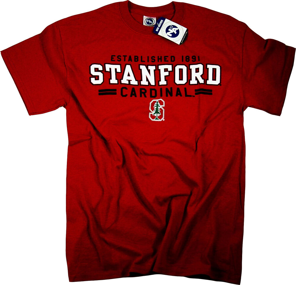 Stanford university shirt t shirt hat lanyard pennant for University t shirts with your name