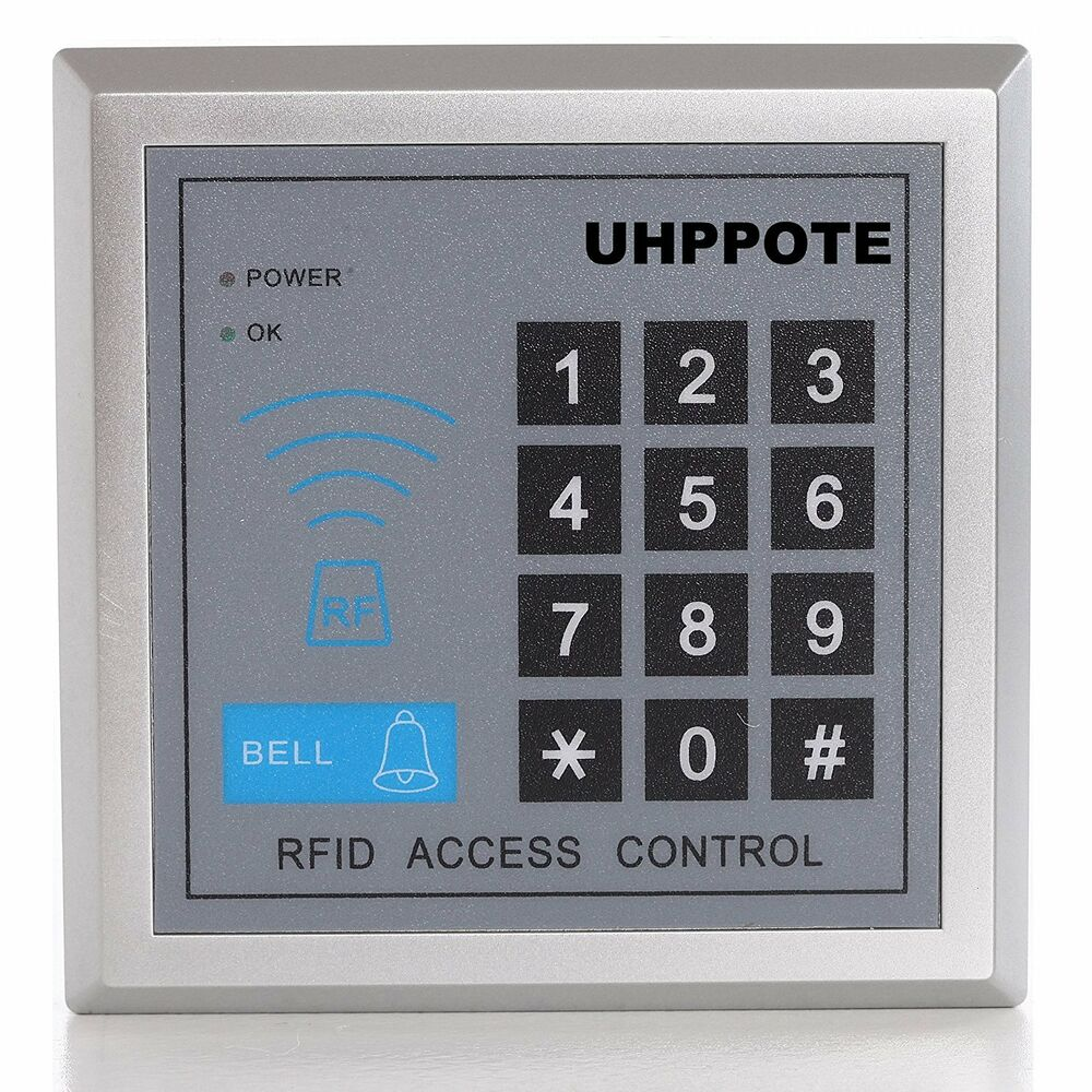 Door Access Control : Pin keypad security rfid id stand alone single one door