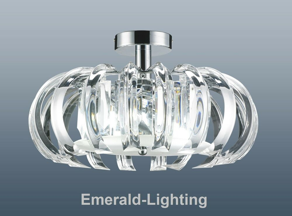 bedroom light fittings uk elsa clear prism chrome flushfitting ceiling light 14339