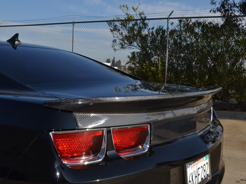 Chevy Camaro Carbon Fiber Trunk Lid With Spoiler By Rk ...