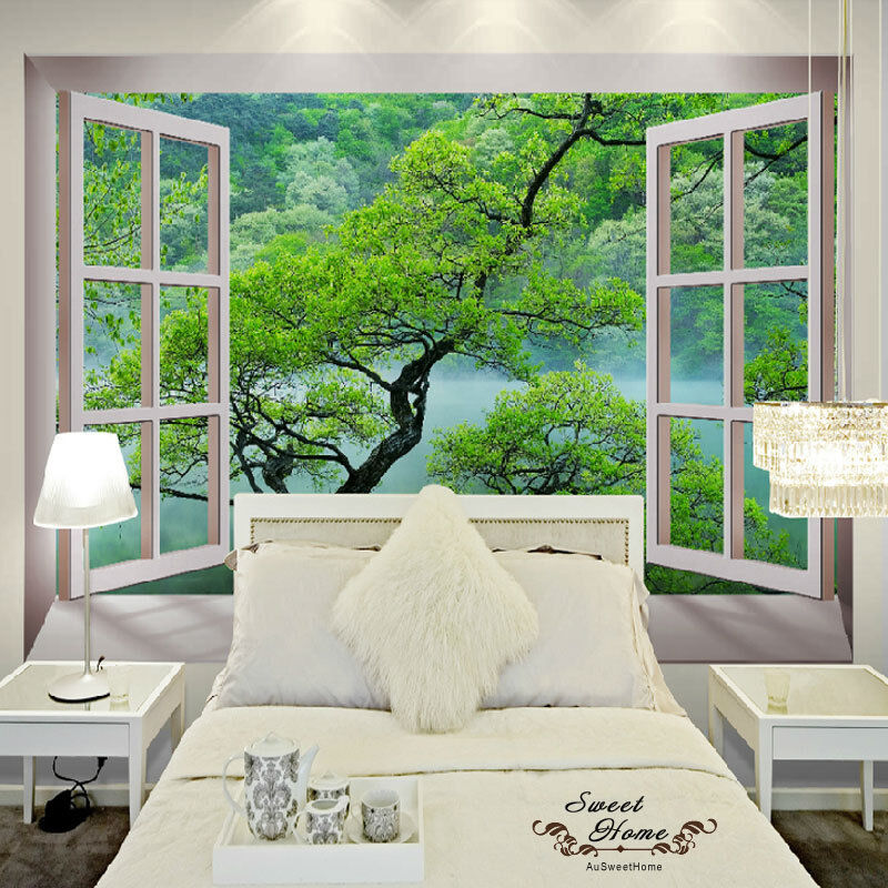 3d Windows Wonderland Wall Paper Wall Print Decal Wall