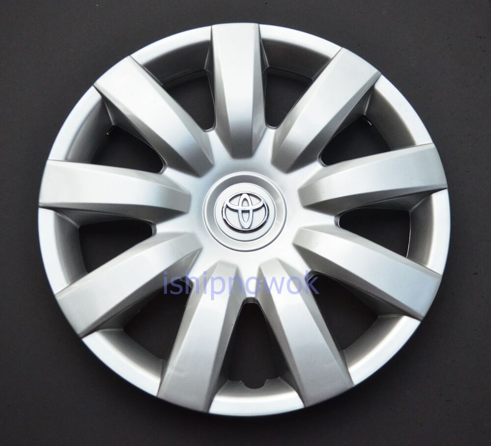 "Hubcaps For 2008 Toyota Corolla: NEW Hubcap Fits Toyota Camry 15"" Rim Wheel Cover 2000-2012"