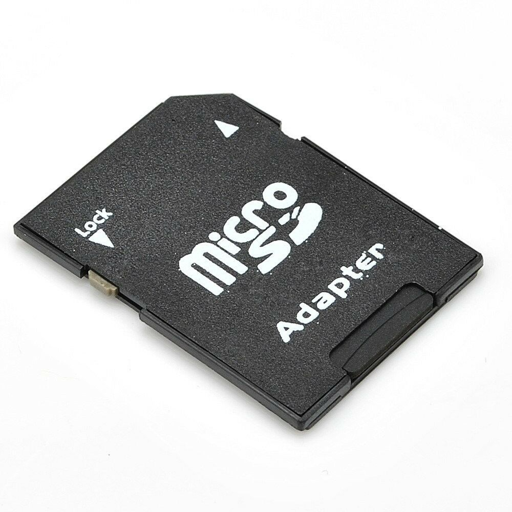 micro sd to sd hc sdhc memory card adapter reader new ebay. Black Bedroom Furniture Sets. Home Design Ideas