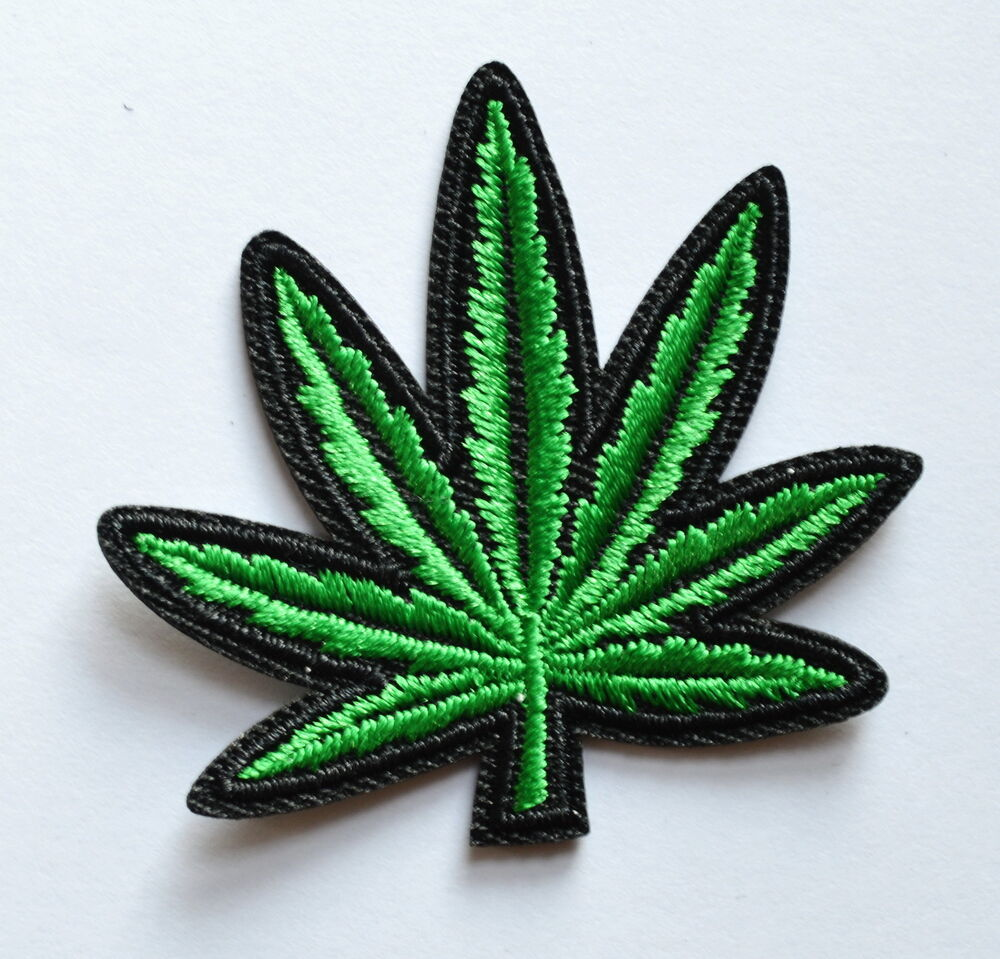 pot weed ganja embroidered appliques for sale in canada
