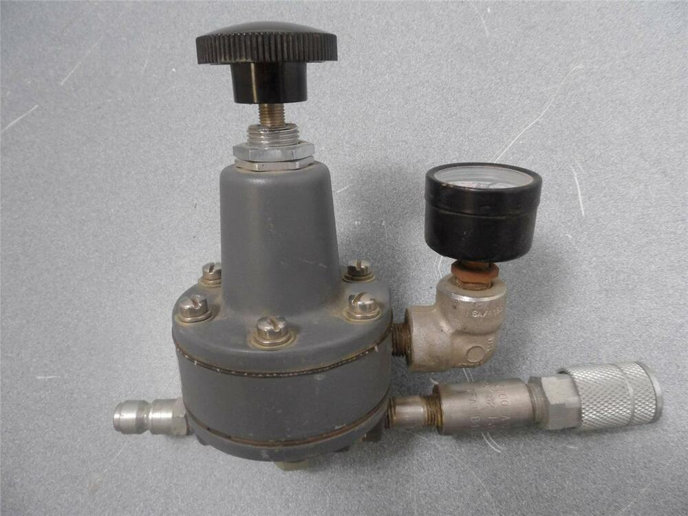 Siemens air pressure regulator with gauge and quick