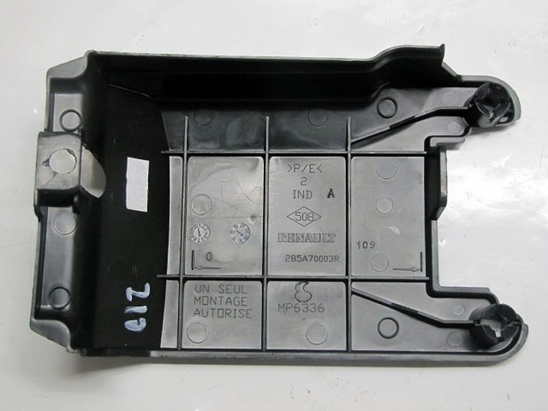 renault megane iii cc battery compartment cover 285a70003r ebay. Black Bedroom Furniture Sets. Home Design Ideas