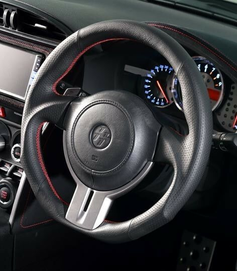 scion fr s toyota 86 gt86 sports steering wheel black. Black Bedroom Furniture Sets. Home Design Ideas