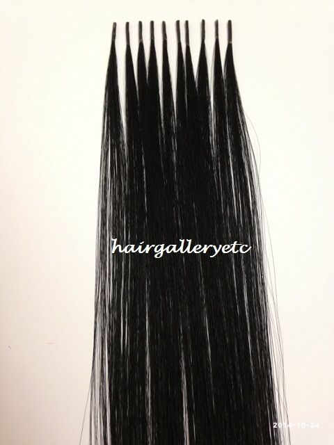 20 Quot I Tip 100 Human Hair Remy Fusion Extension Keratin I Tip Quality Hair Ebay