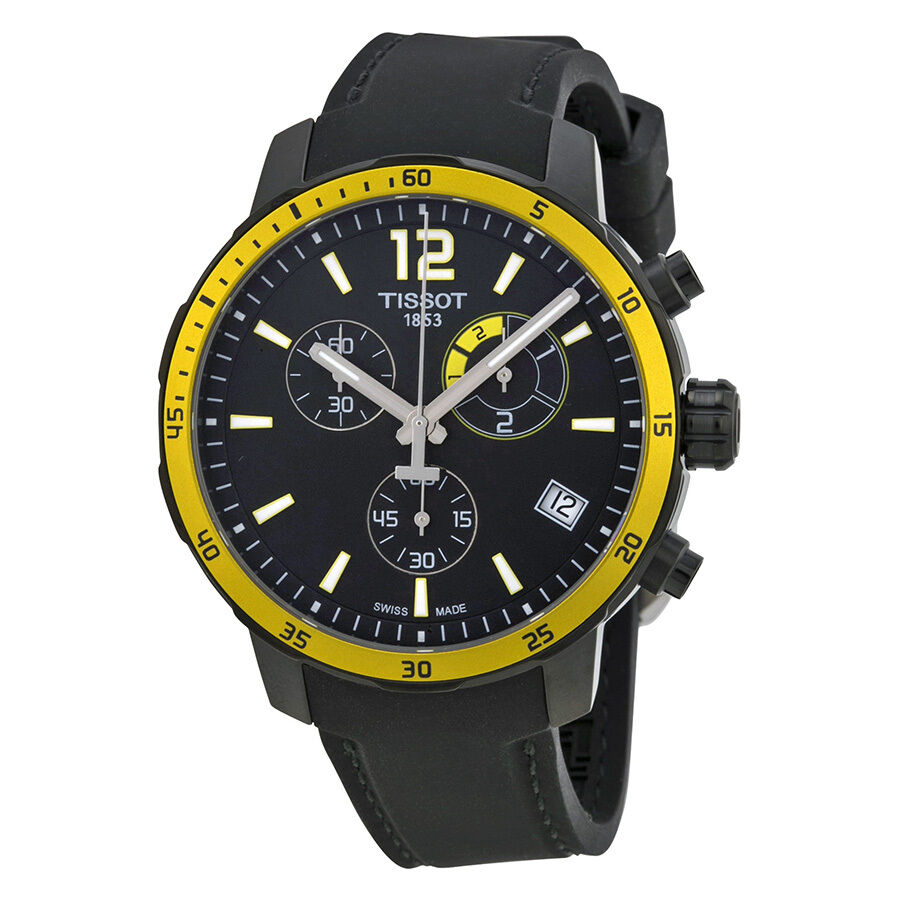 tissot quickster soccer world cupblack silicone mens watch