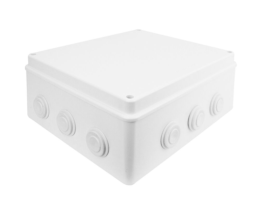 Ip65 Large Waterproof Joint Outdoor Cctv Electrical Junction Box 300x250x120mm Ebay