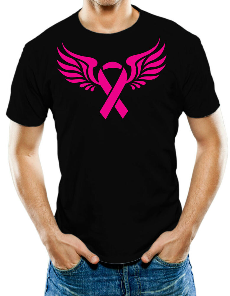 breast cancer awareness support pink ribbon t shirt t