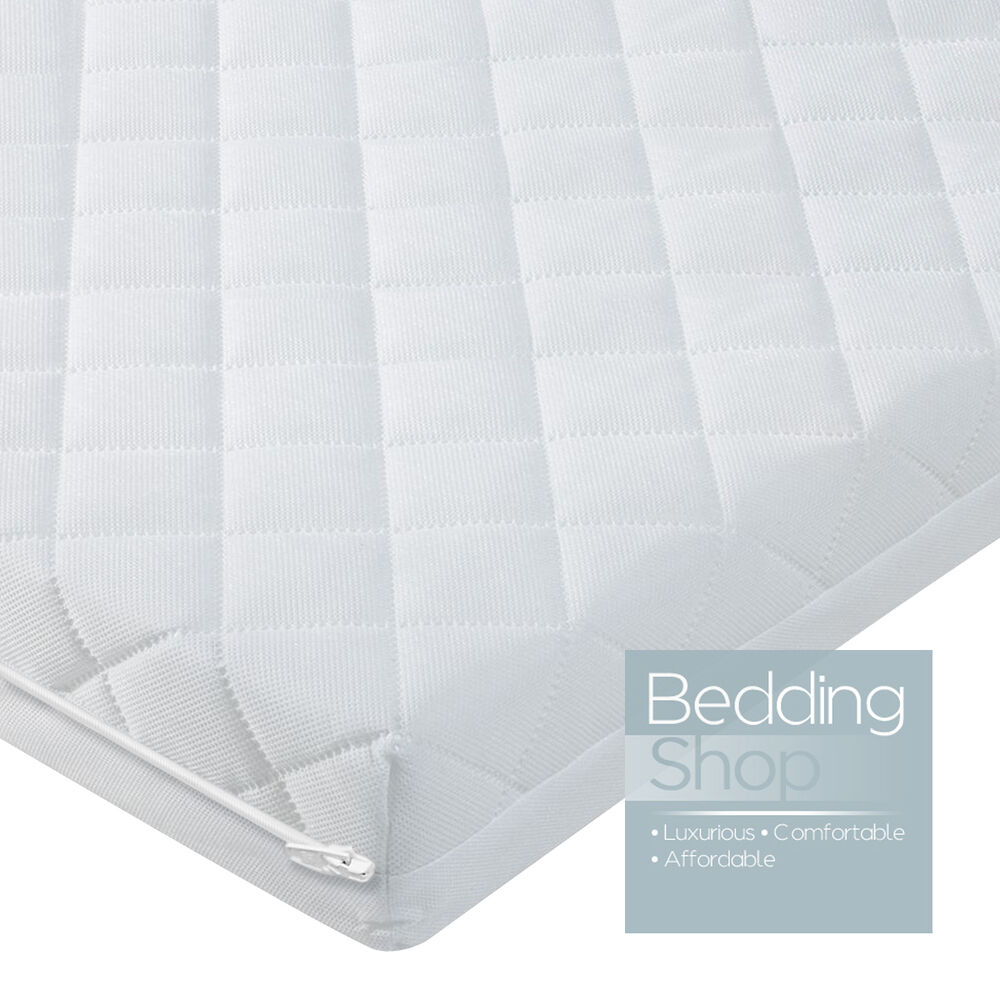 Baby Toddler Foam Cot Bed Mattress Fully Breathable