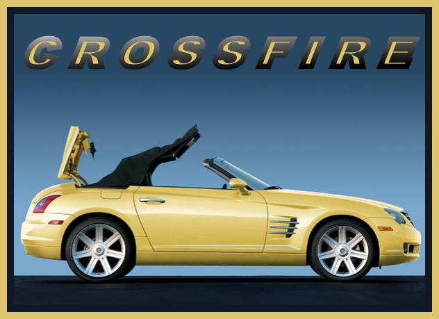 Purchase Used Chrysler Crossfire Convertible Grey: 2005 Chrysler CROSSFIRE Roadster, YELLOW, Refrigerator