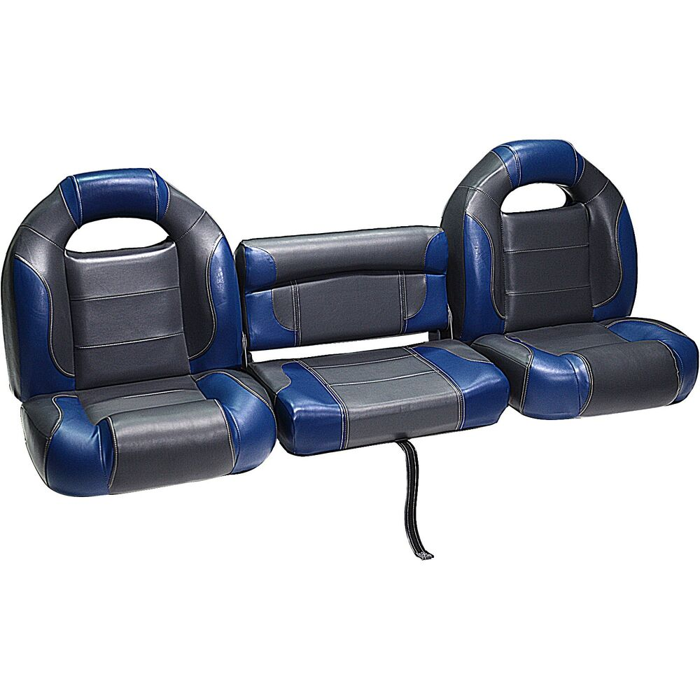 Deckmate 5 Piece 68 Bass Boat Bench Seats Set Charcoal